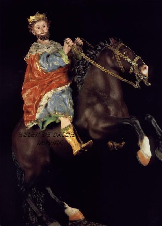 Rey Gaspar   Belen de Salzillo